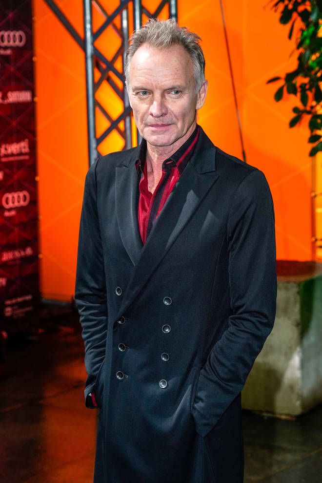 Sting will perform in London in September 2020