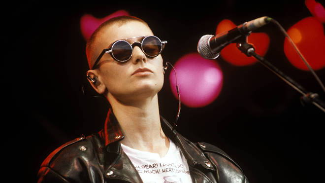 Sinead O'Connor in 1990