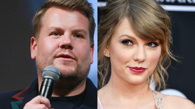 James Corden/Taylor Swift