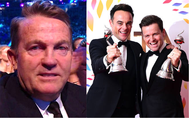 Bradley Walsh left fuming after Ant and Dec and I'm A Celeb beat him to NTAs win