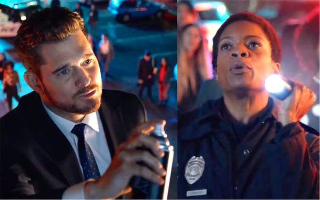 Michael Bublé 'faces arrest' in cheeky new TV advert