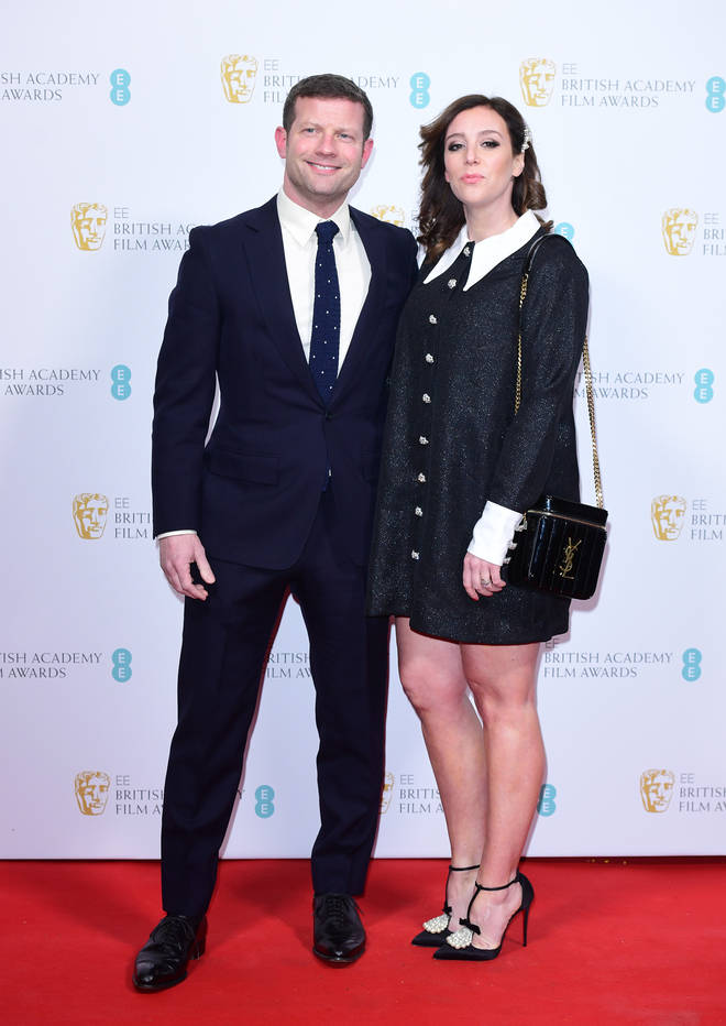 Dermot O'Leary and wife Dee Koppang O'Leary at the BAFTAs 2020