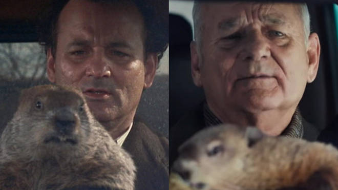 Bill Murray returned to Groundhog Day in a new Super Bowl commercial