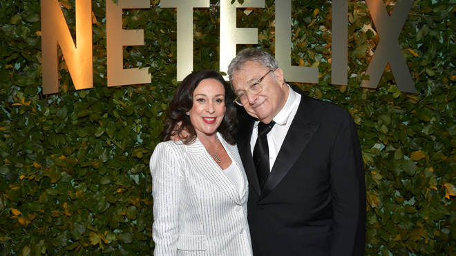 Randy Newman and Gretchen Preece