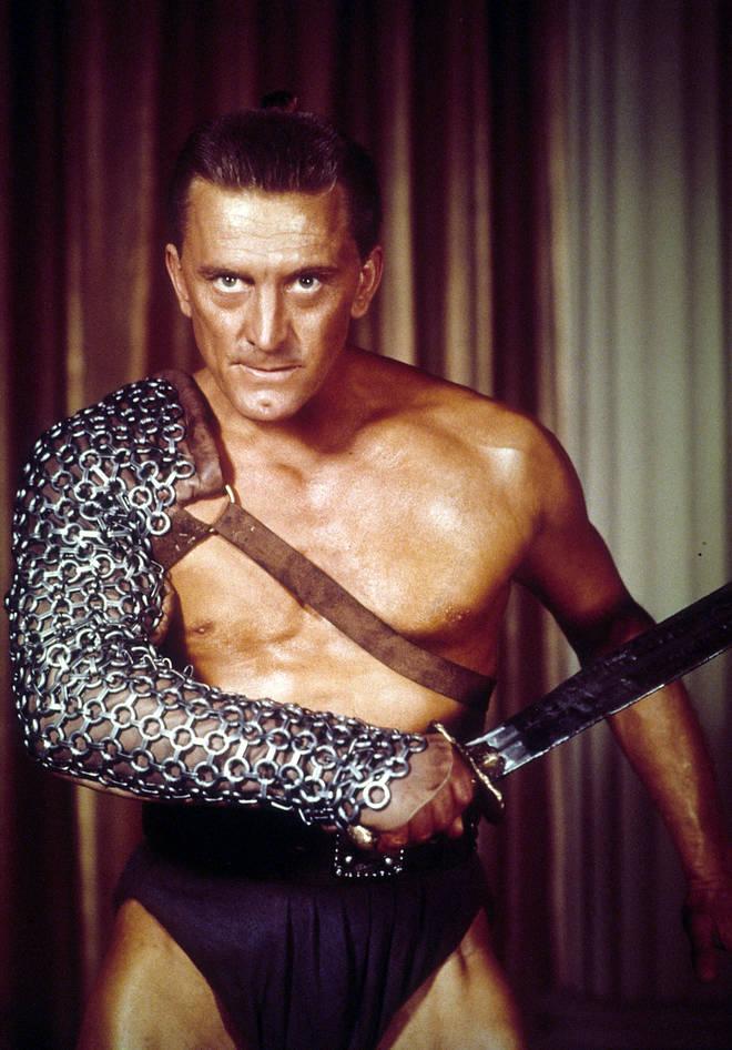 Kirk Douglas In 'Spartacus'