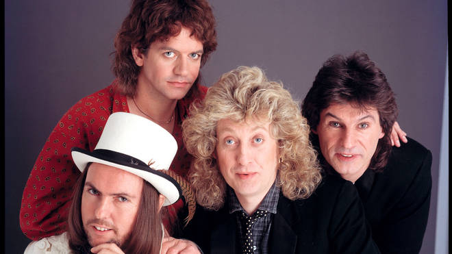 Slade (L-R: Dave Hill, Jim Lea, Noddy Holder, Don Powell)