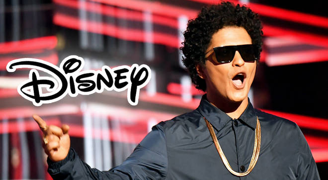 Bruno Mars set to produce and star in music-driven Disney film