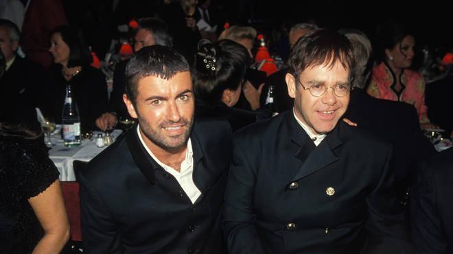 George Michael and Elton John