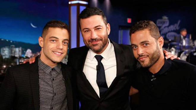 Rami Malek and twin brother