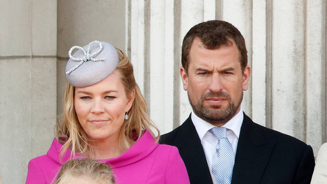 Peter Phillips and Autumn Phillips in 2019