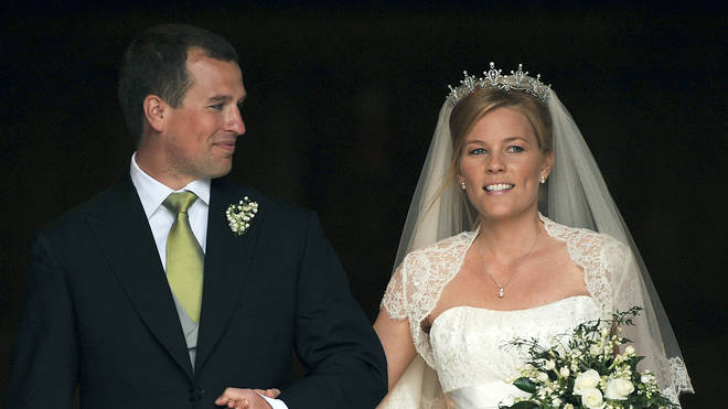 The Wedding of Peter Phillips to Autumn Kelly in 2008