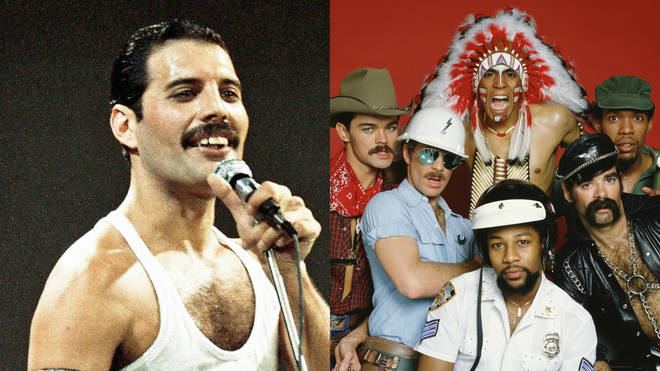 Freddie Mercury's drink was supposedly spiked on a night out with the Village People