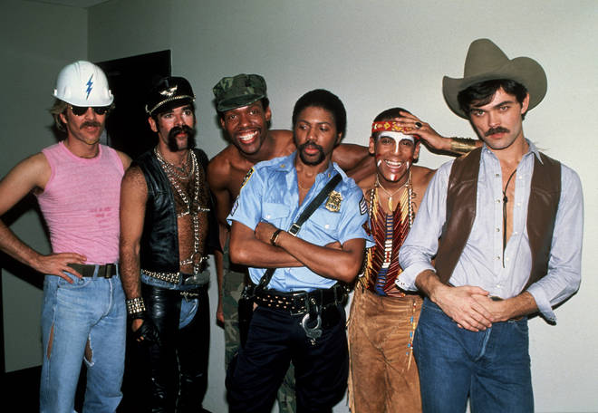 The six members of the Village People photographed in New York circa 1979.