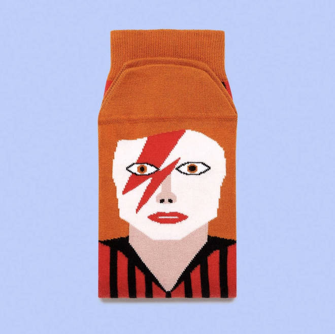 David Bowie socks – the perfect gift for your Valentine?