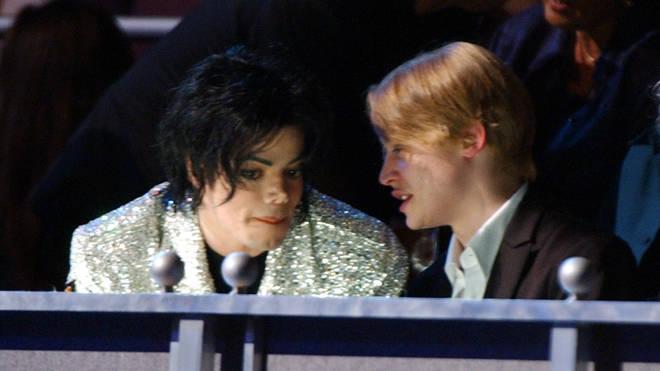 Macaulay Culkin and Michael Jackson