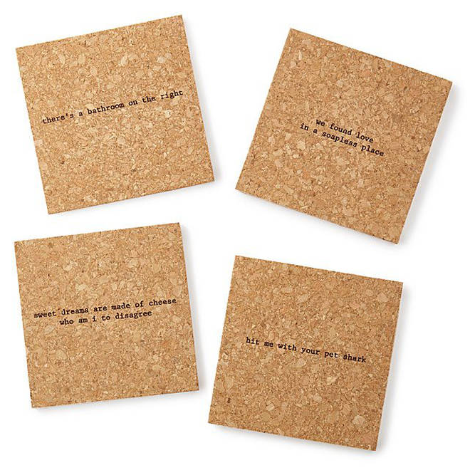 Mistaken lyrics coasters could be the gift for your Valentine this year