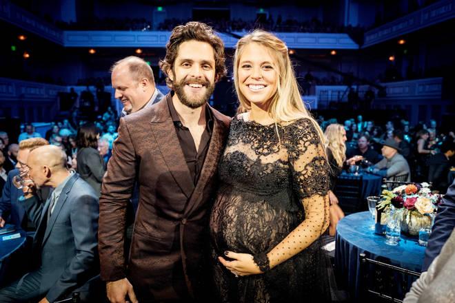 Thomas Rhett and wife Lauren celebrate the birth of third daughter