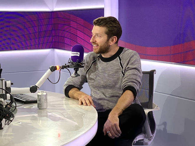 Brett Eldredge speaking to Smooth Country