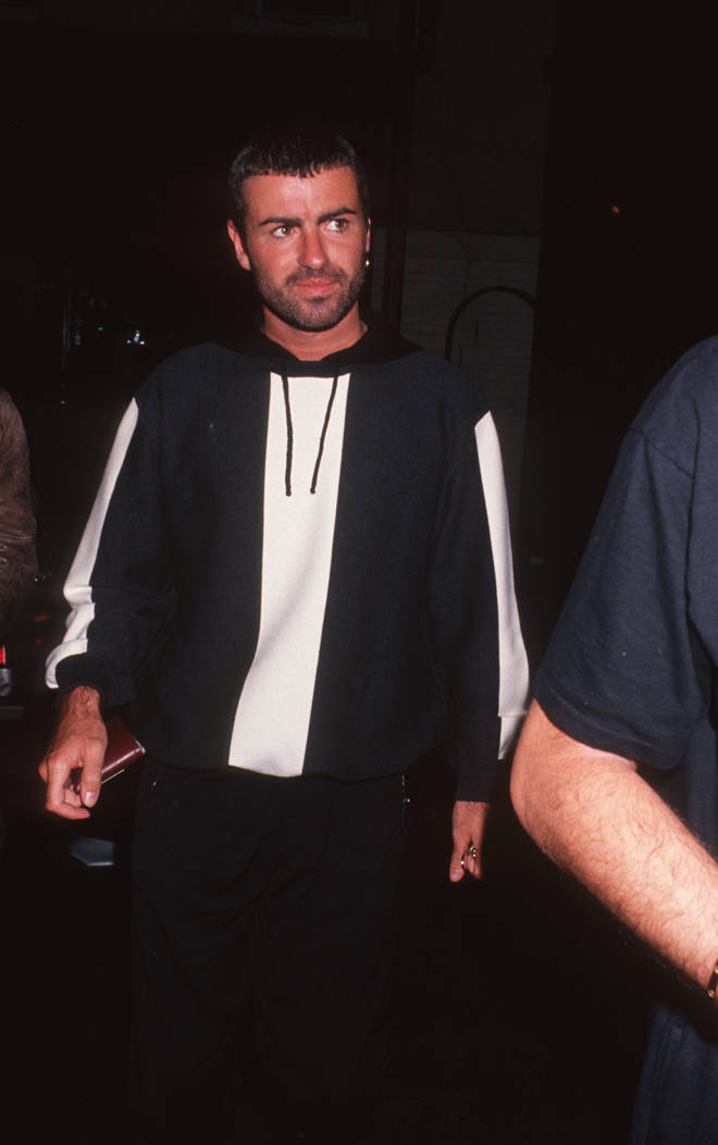 George Michael at Lowell Hotel in New York City - October 23, 1991