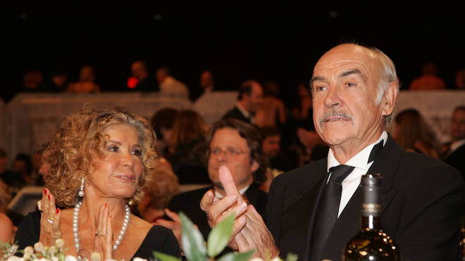 Sean Connery and Micheline Roquebrune in 2006