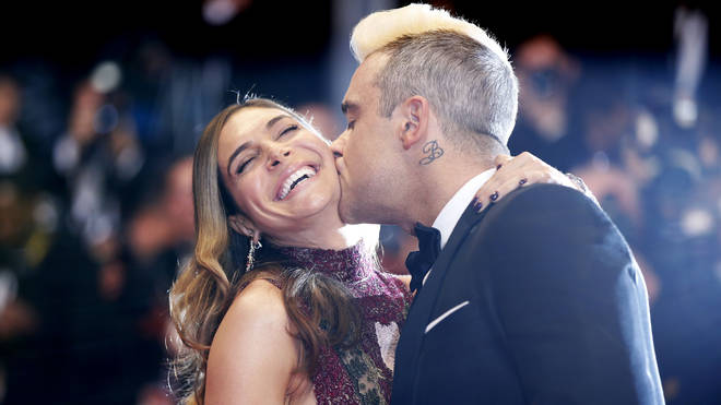 Robbie and Ayda have welcomed a fourth child together