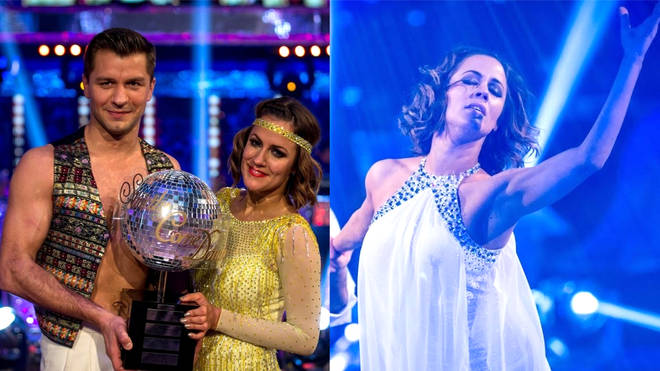 Caroline Flack won Strictly Come Dancing in 2014