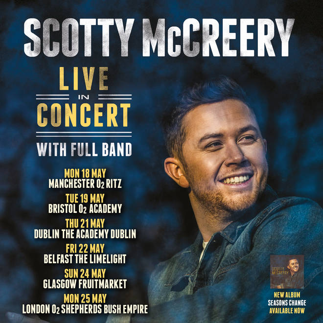 Scotty McCreery 2020 UK and Ireland tour dates