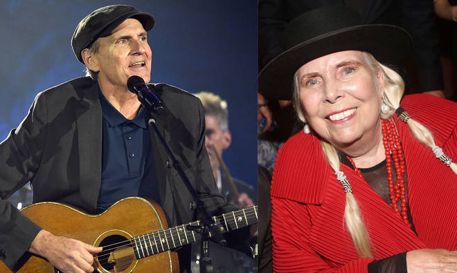 James Taylor hints that former collaborator Joni Mitchell is returning to music