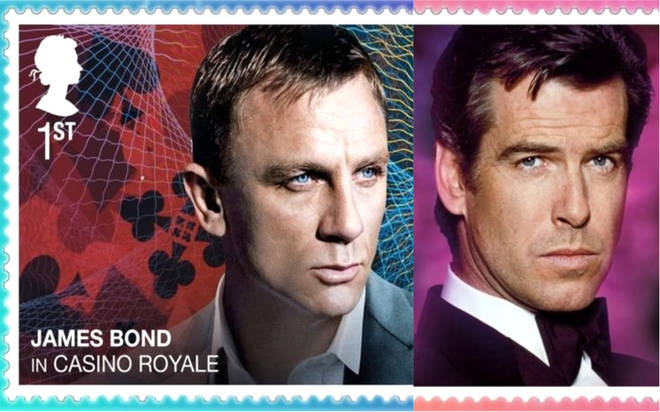 James Bond stamps unveiled by Royal Mail to celebrate No Time To Die release