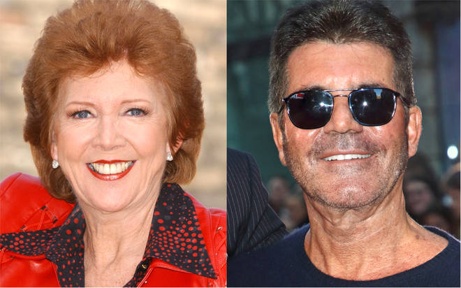 Unseen Cilla Black footage shows Simon Cowell helping her to grieve after husband Bobby's death