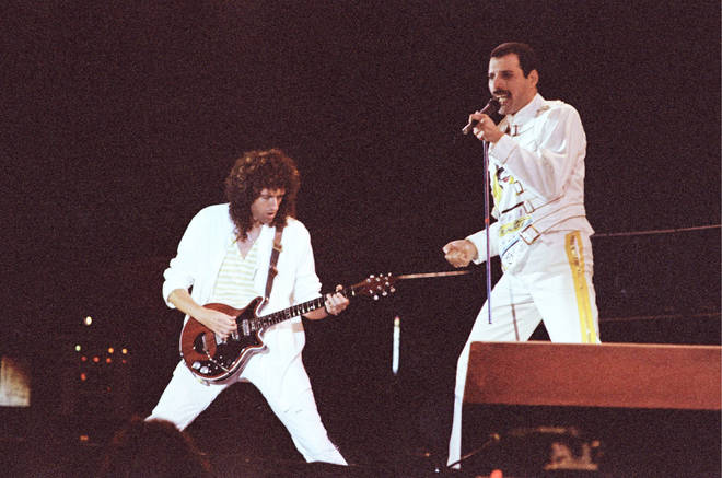 The August 9, 1986 concert was the final date of the band's highly successful Magic Tour