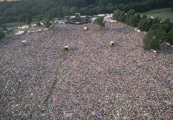 Queen performed their greatest hits in front of a crowd of 120,000