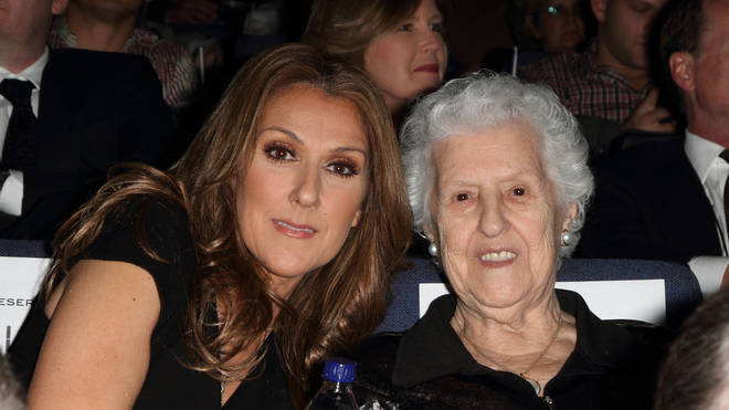 Celine Dion's mother Therese passed away in January