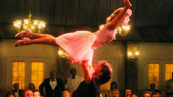 The famous Dirty Dancing lift