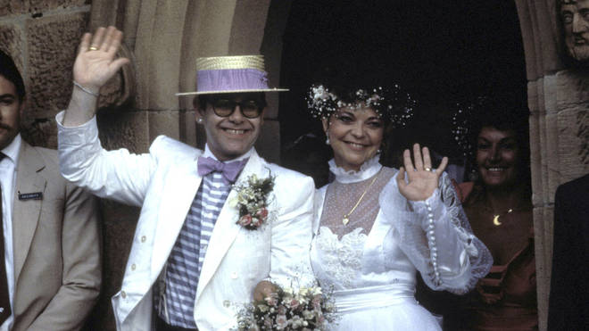 Elton John and Renate Blauel 's Wedding in Sydney on February 14, 1984