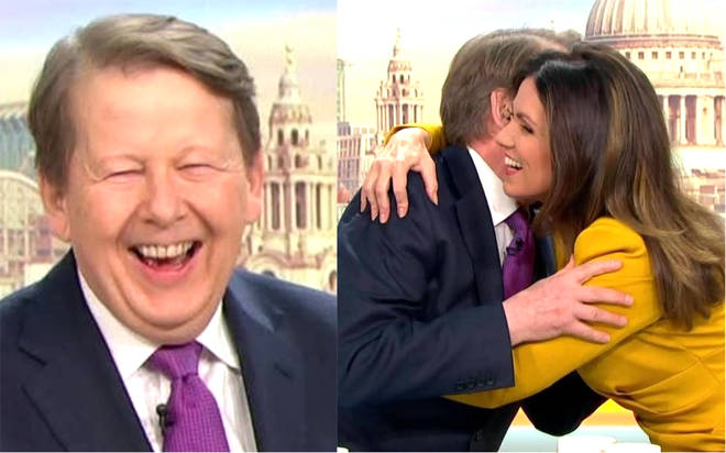 Bill Turnbull and Susanna Reid reunite after six years for Good Morning Britain