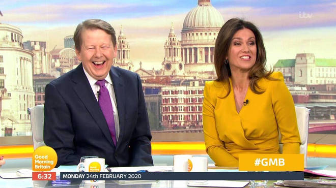 Bill Turnbull and Susanna Reid reunite on Good Morning Britain after six years