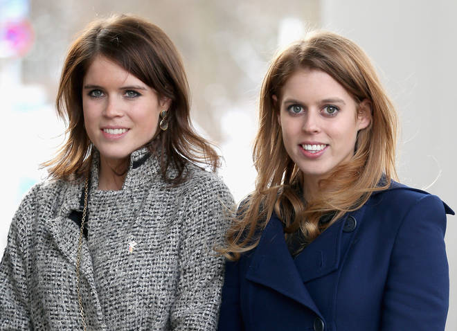 Princess Beatrice and Eugenie
