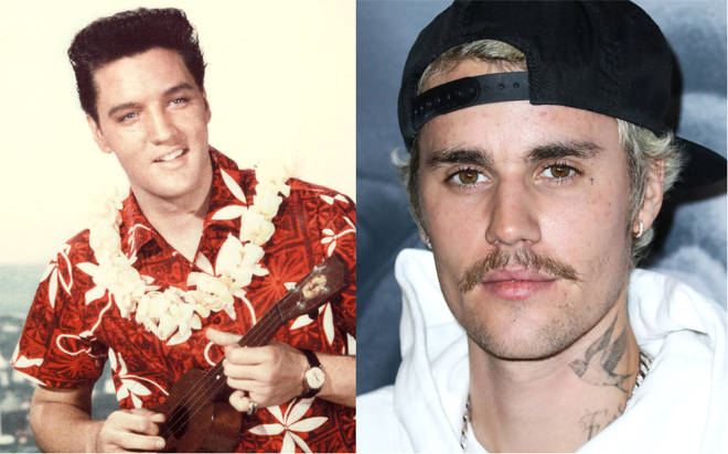 Elvis Presley's chart record broken by Justin Bieber after six decades