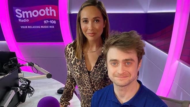 Daniel Radcliffe and Myleene Klass