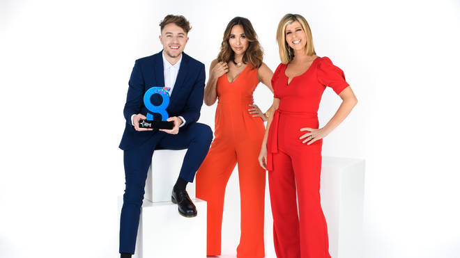 Roman Kemp, Myleene Klass and Kate Garraway as Global Awards
