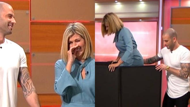 Kate Garraway vanished on live TV