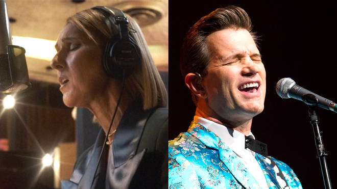 Celine Dion has teamed up with Chris Isaak