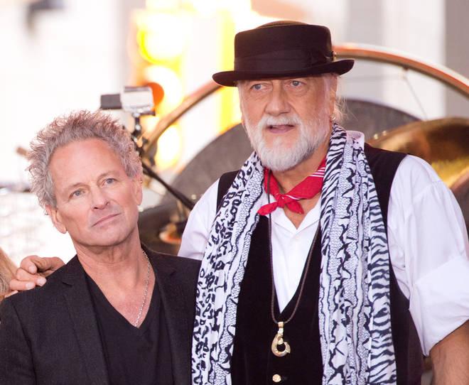 Lindsey Buckingham and Mick Fleetwood