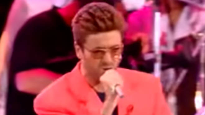 George Michael recalls the pain of going on stage with his secret lover watching in the audience in the 2016 documentary