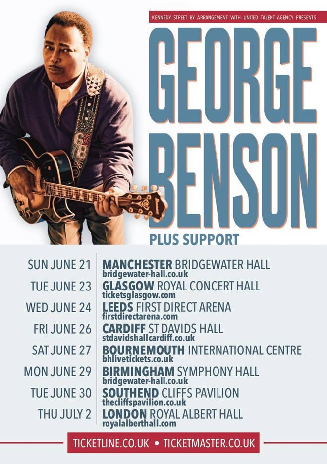 George Benson tour