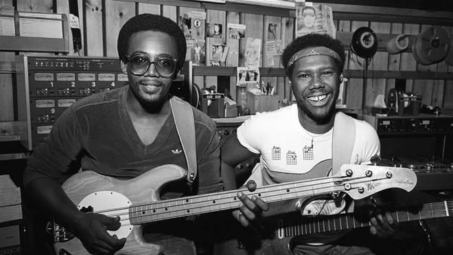 Bernard Edwards & Nile Rogers in 1981