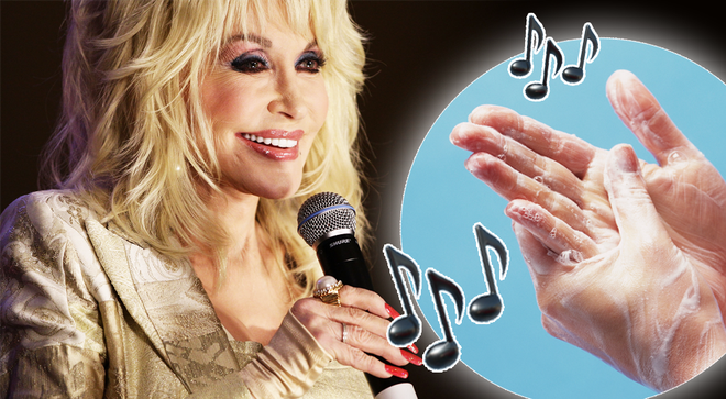 Dolly Parton and Toto are the perfect 20-second choruses to sing while hand washing