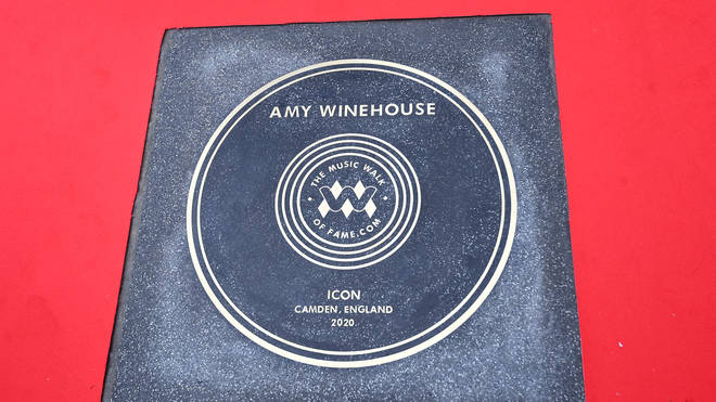 Amy Winehouse is honoured in Camden