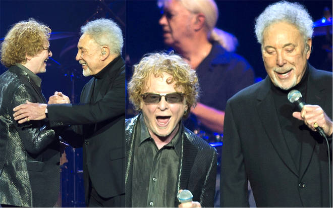 Sir Tom Jones and Mick Hucknall perform surprise duet at The O2 Arena